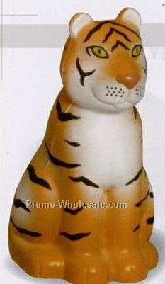 Wild Animals - Sitting Tiger Squeeze Toy