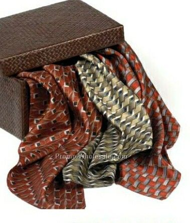 Wolfmark Career Collection Silk Scarf - Marquette