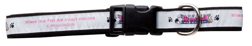 "Wov-in Line Pet Collar 3/4"" - Elite+ Plus Webbing"