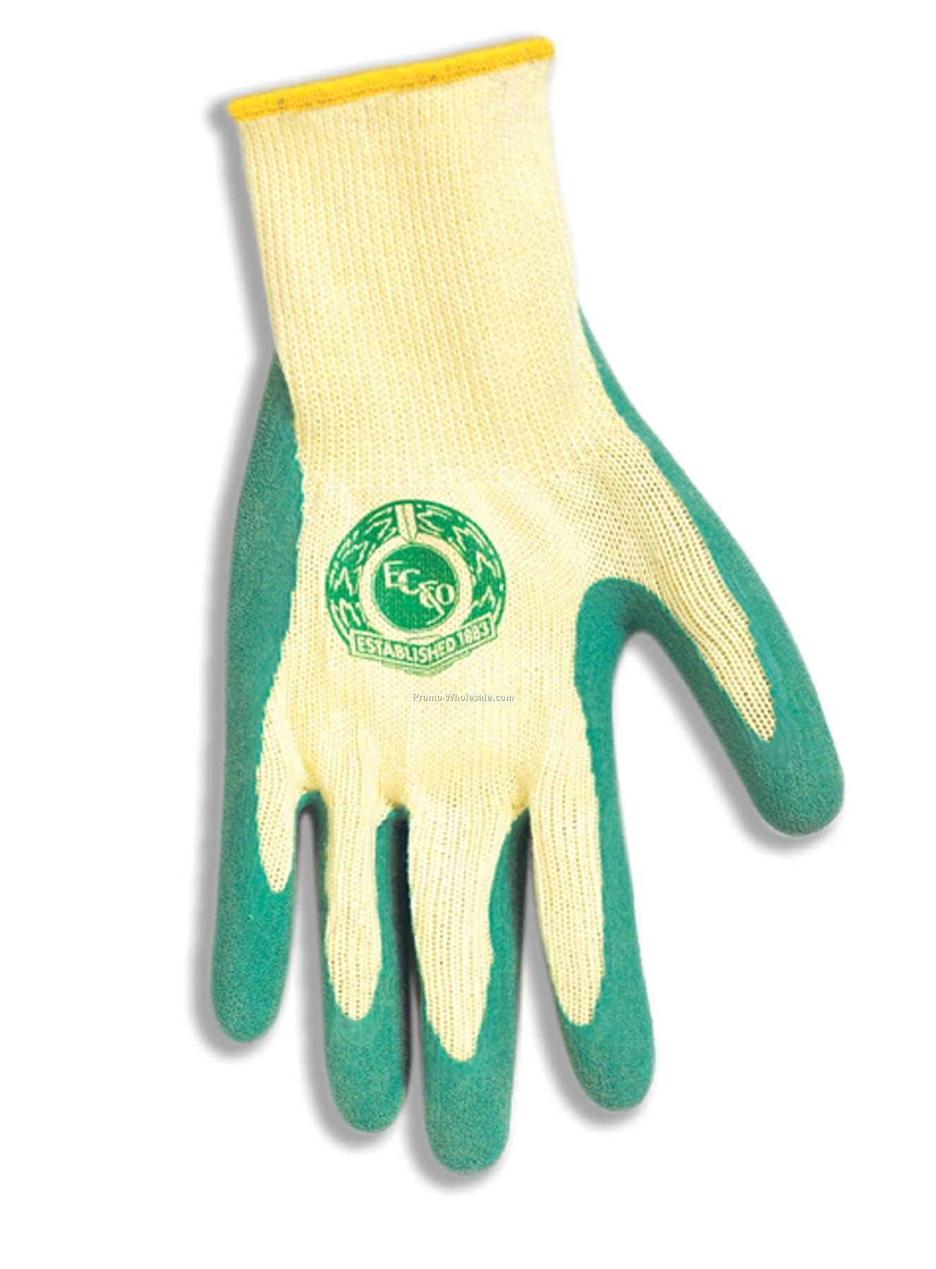 10 Gauge Cotton / Polyester Knitted Glove With Palm Dipped In Pvc (S, L)