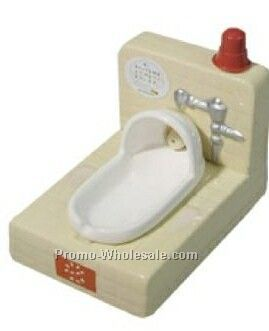 12-3/5cmx9cmx12cm Squatting-flush Toilet Ashtray