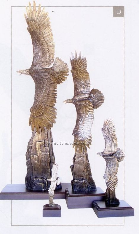 "14-1/2"" Over The Top Eagle Sculpture"