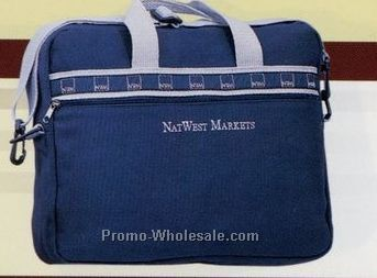 18 Oz. Natural Canvas Corporate Attaches