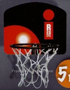 "5-1/2"" Budget Color Hoop & Backboard Set"