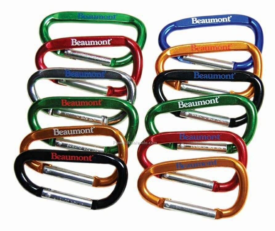 6mm Printed Carabiners, No Attachment