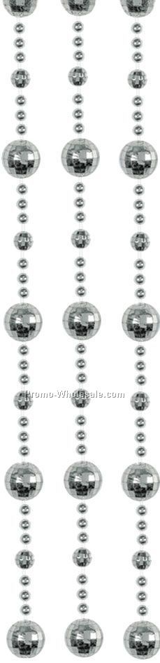 "78""x24"" Disco Ball Bead Curtains"