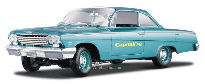 "9"" Light Blue Chevrolet Belair Die Cast Replica Vehicle"