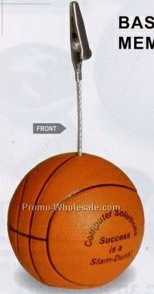 Basketball Memo Holder
