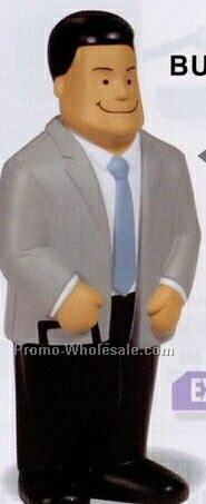 Business Man Squeeze Toy