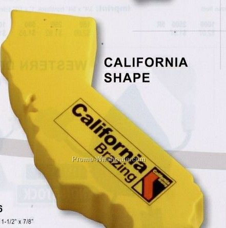 California Shape Squeeze Toy