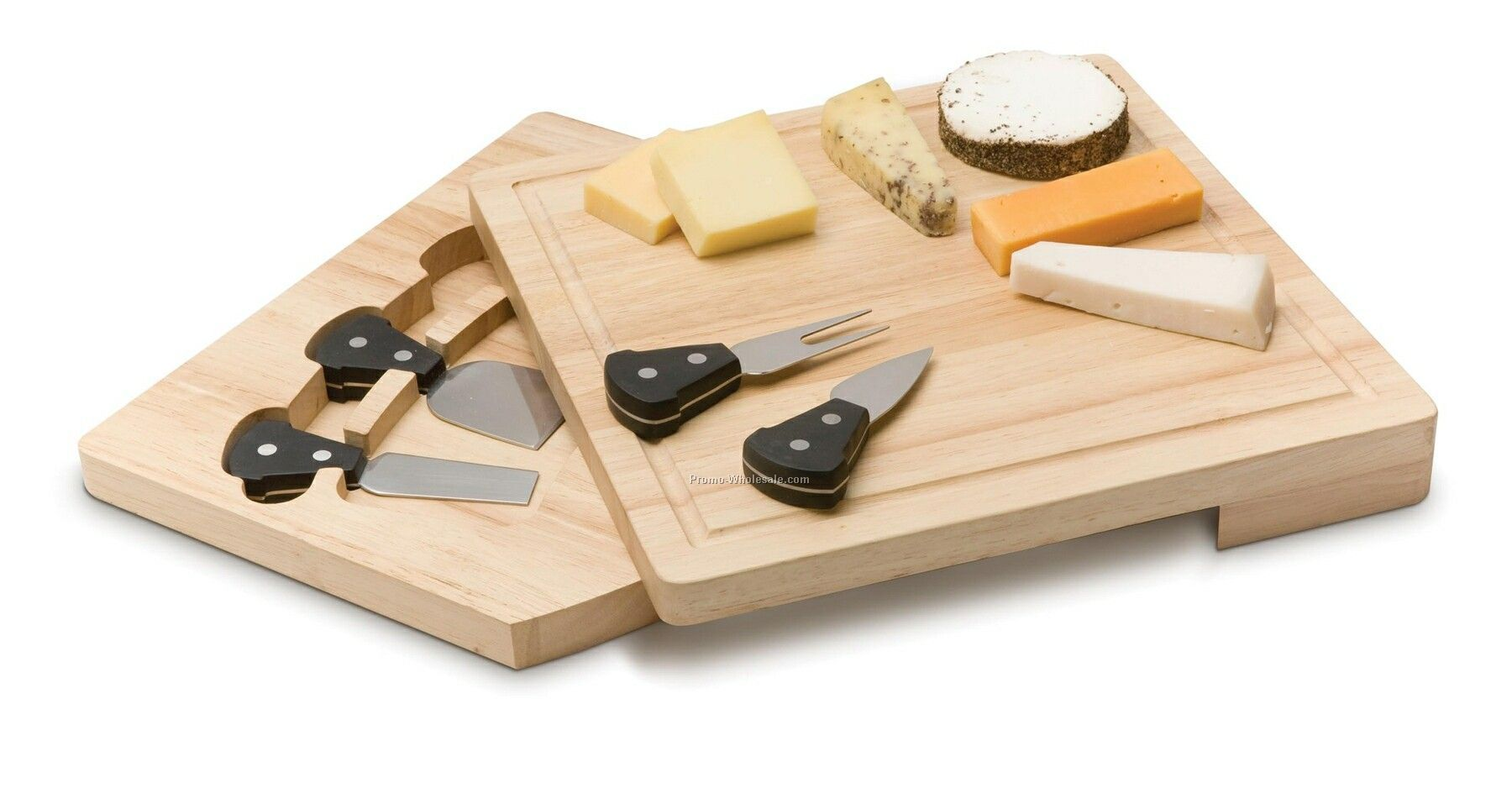 Cheese Knives With Cutting Board
