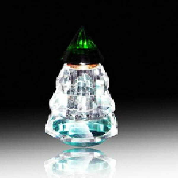Clear/Green Top Perfume Atomizer