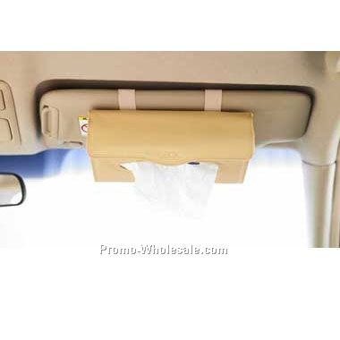 Combo CD Visor And Tissue Box