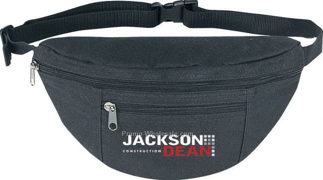Deluxe 2 Zipper Fanny Pack (Imprinted)