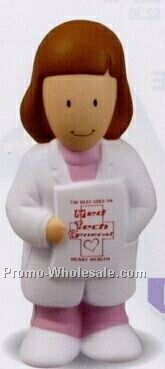Female Physician Squeeze Toy