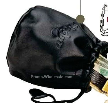 Full Grain Aniline Leather Large Valuables Pouch