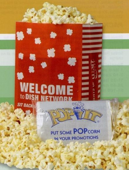 Full Print Popcorn Bag - 4 Color