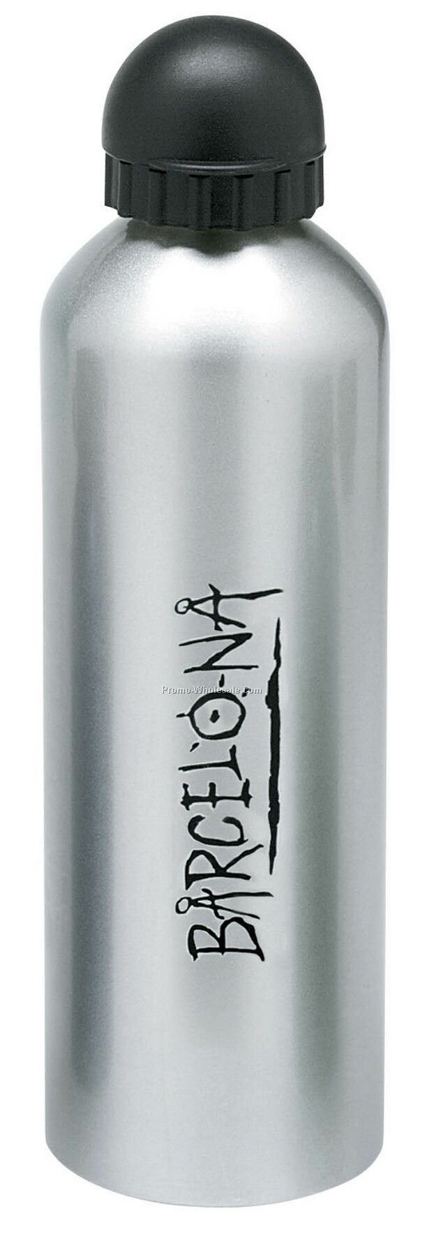 Giftcor 1 Liter Blue Aluminum Sport Flask II W/ Dome Sports Top