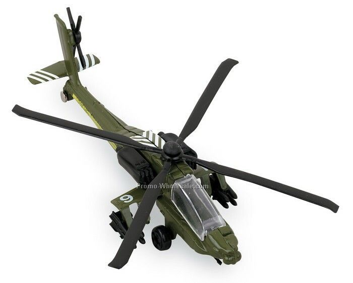 Hot Wings Ah-64 Helicopter