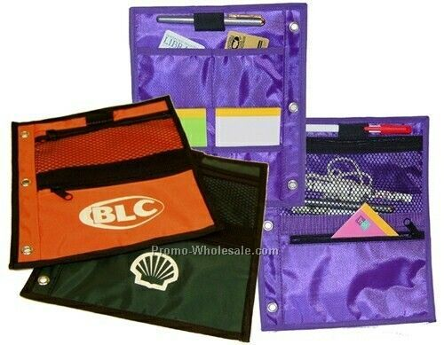 Large 3 Ring Binder Pouch - 420d