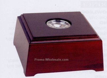 Mahogany LED Lighting Wood Base