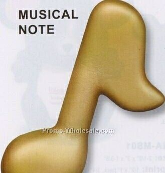 Musical Note Squeeze Toy