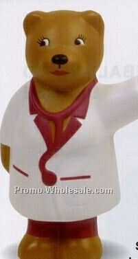 Nurse Bear Squeeze Toy