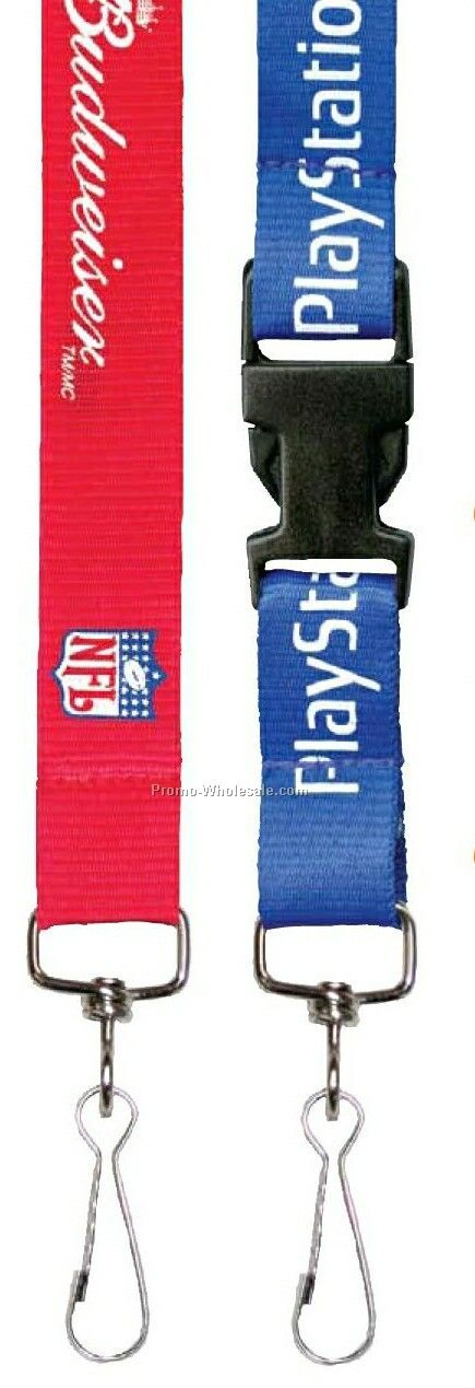 Silk Screened Flat Lanyard