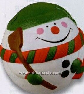 Snowman Ball Squeeze Toy