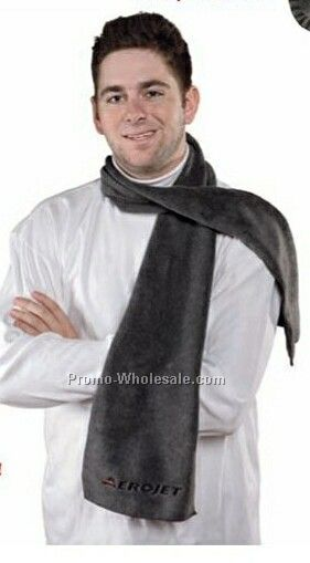 Solid Fleece Scarf