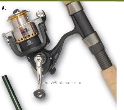 Stealth Freshwater Spinning Combo (1 Color)