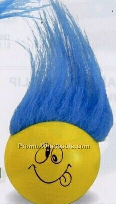 Troll Ball Squeeze Toy