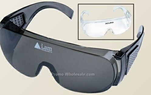 U.s. Safety Aspen Eyewear Covering Glasses With Color Lens