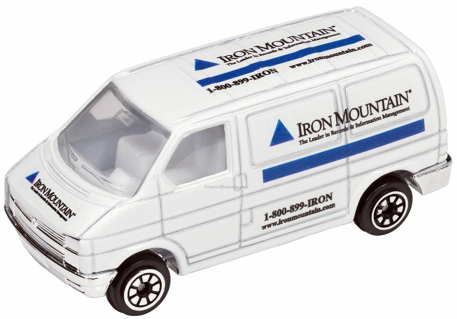 White Mini Van Die Cast Mini Vehicles - 3 Day