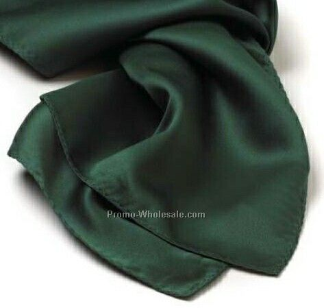 Wolfmark Hunter Green Solid Series Polyester Scarf