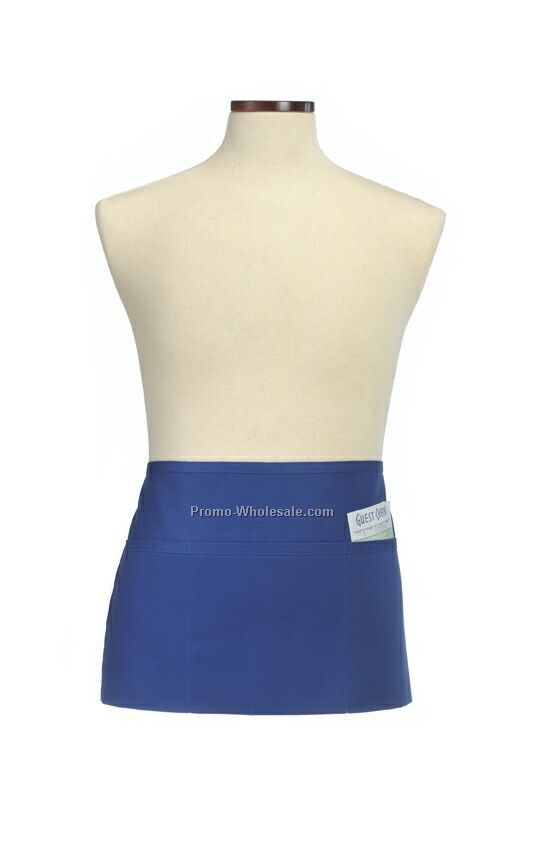 Wolfmark Waist Apron - Royal Blue