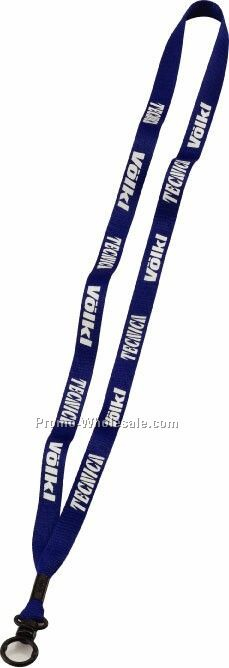 "1/2"" Economy Polyester Lanyard With O-ring - Same Day Service"
