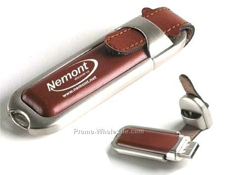 1 Gb Leather USB Drive