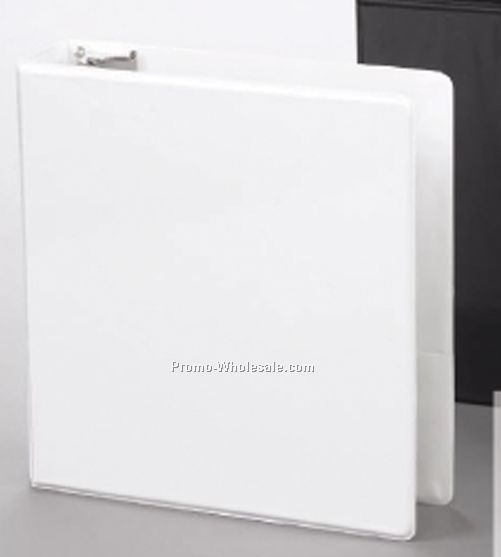 "11""x8-1/2"" Vinyl Overlay Ring Binder Standard-1/2"" Front Spine Trap In"