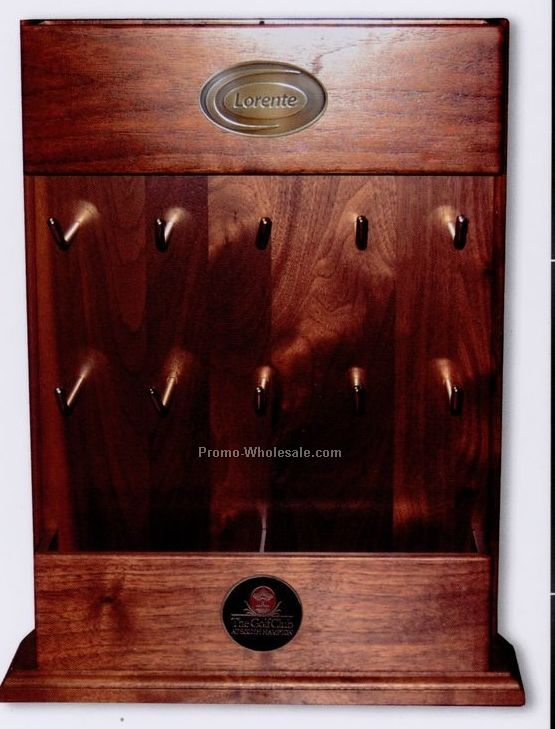 "17"" Deluxe Counter Display Fixture (Walnut Or Solid Rosewood)"