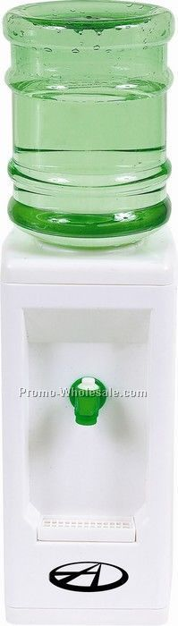 "19-1/2""x5-1/2""x5-1/2"" Green Desktop Beverage Dispenser"