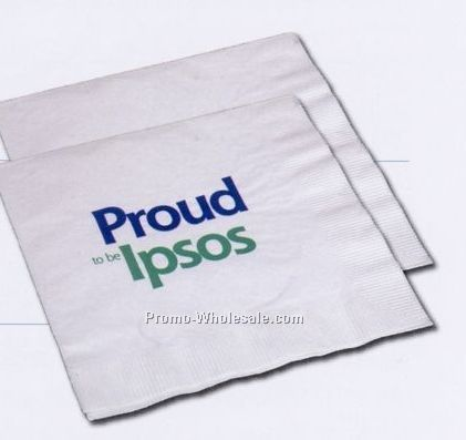 2 Ply High Volume White Luncheon Napkin (1 Color)