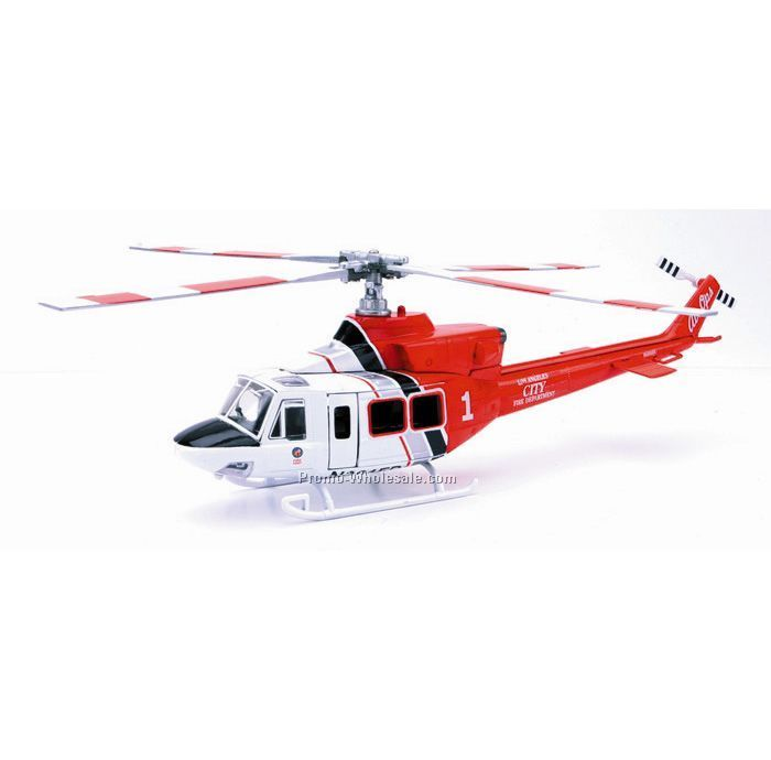 412 Lafd Diecast Helicopter 1:48 Scale