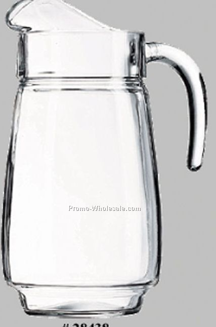 60 Oz. Glass Pitcher W/ Large Handle