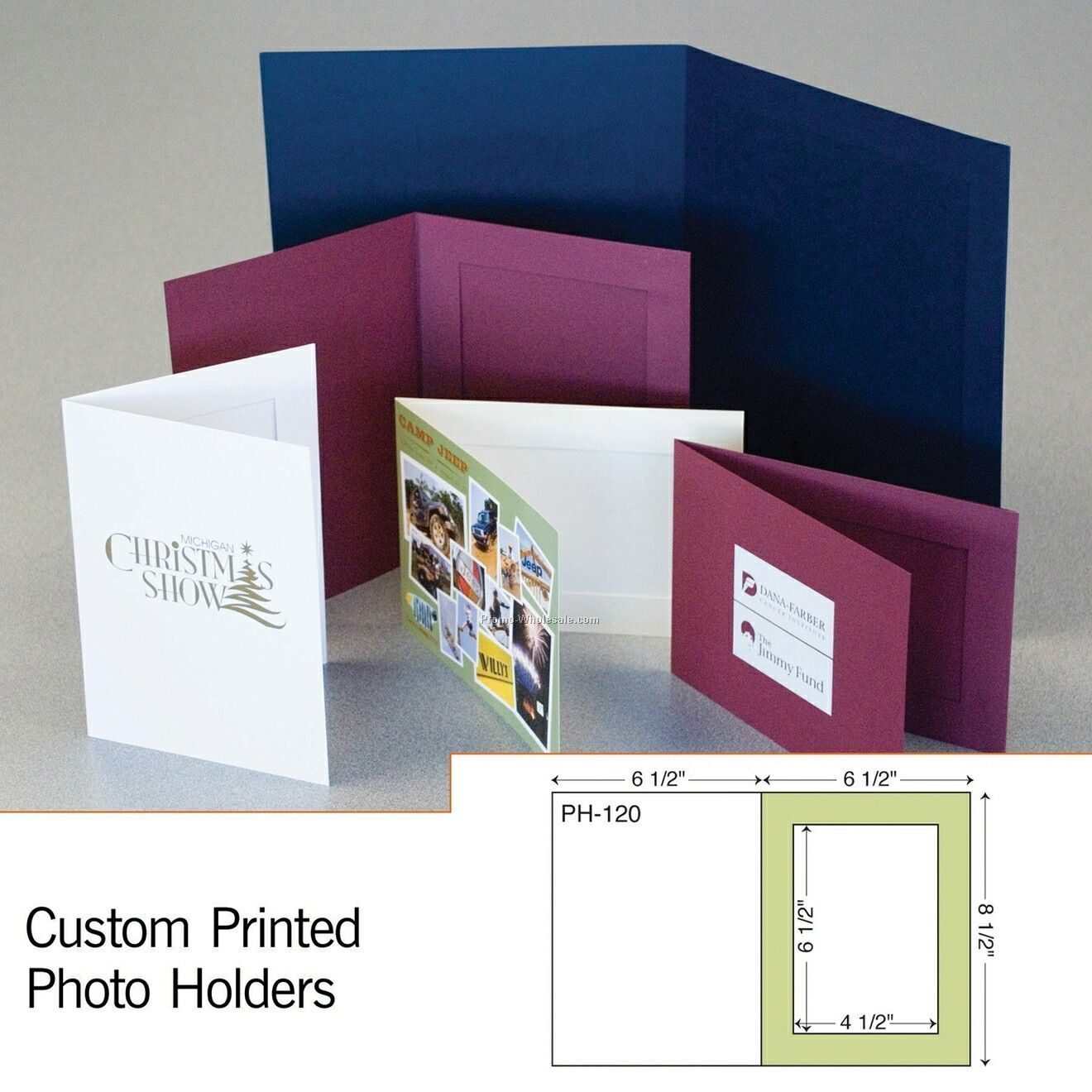 "7-1/2""x5-1/2"" Photo Holder (1 Color)"