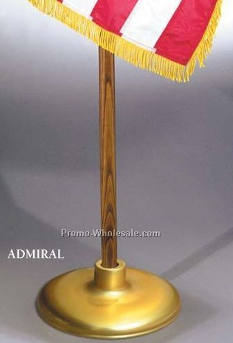 "Admiral Flagpole Floor Stand (Up To 1-1/4"" Bore Diameter)"