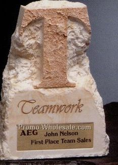 Alabaster Themestone Teamwork Award