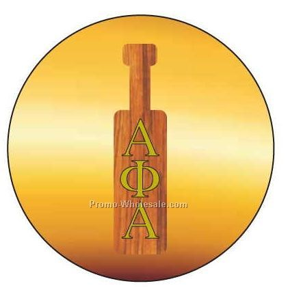 "Alpha Phi Alpha Fraternity Paddle Badge W/ Metal Pin (2-1/2"")"