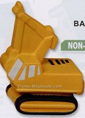 Backhoe Squeeze Toy (Non Stock)