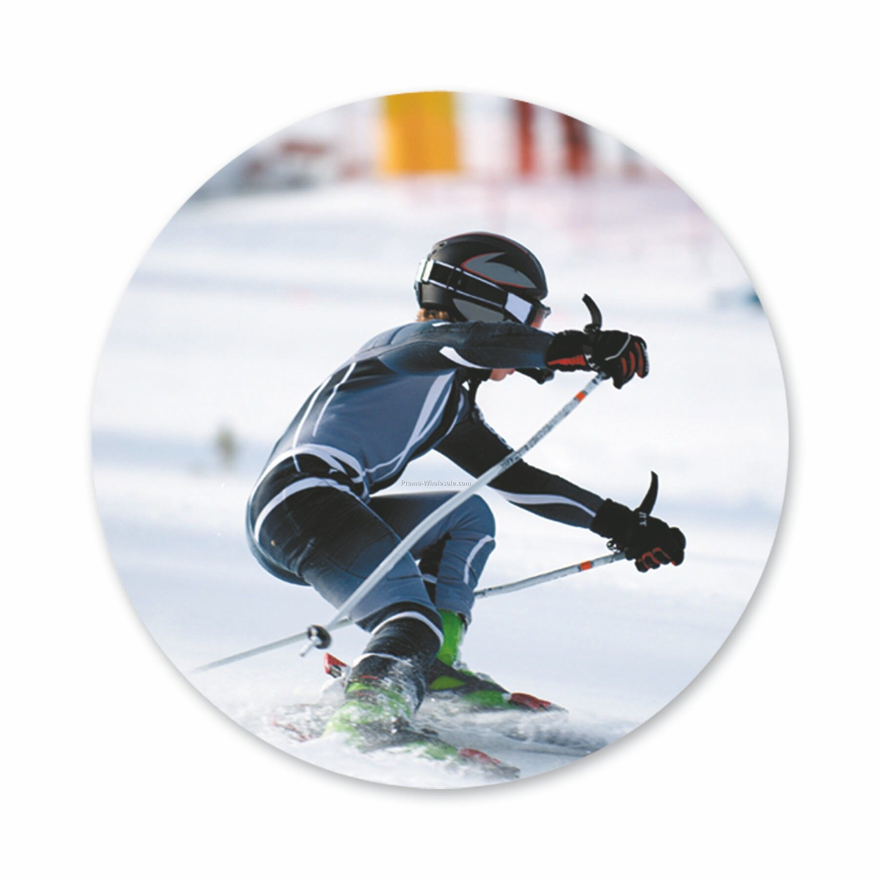 "Cnij Sports Labels (1-1/2"" - Skiing)"